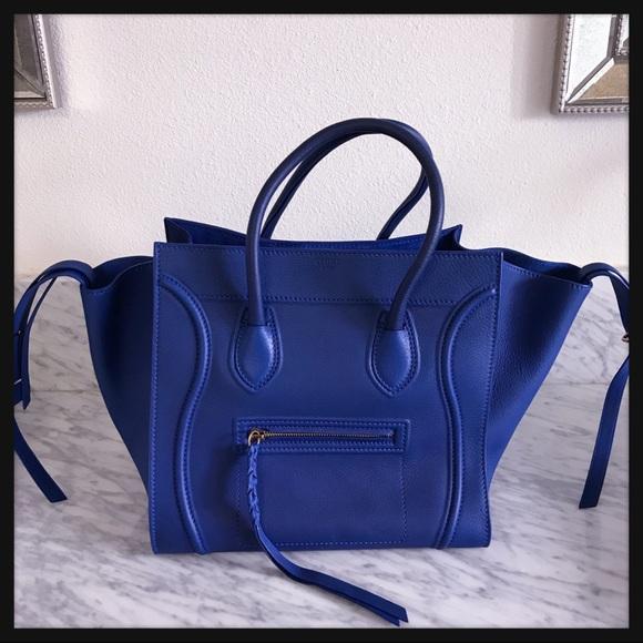 e65881f863d6 NEW Celine Phantom Luggage Small - Royal Blue